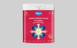 庞贝宠物羊奶粉包装设计