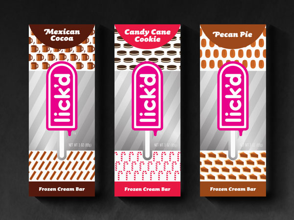 包装设计——国外冰淇淋包装欣赏