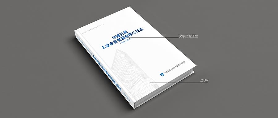 中建五局二十年系列画册之司志